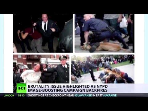 #MyNYPD: Victims troll NY-cop PR with shots of violent men-in-uniform