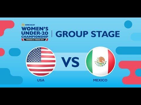 CU20W: United States vs. Mexico - Selección Nacional de México 2018-01-23 19:58