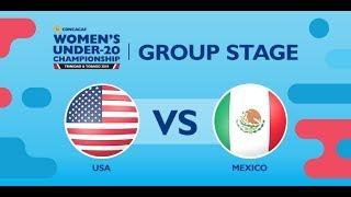 CU20W: United States vs. Mexico