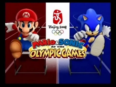 Let's Look at Mario and Sonic at the Olympic Games!