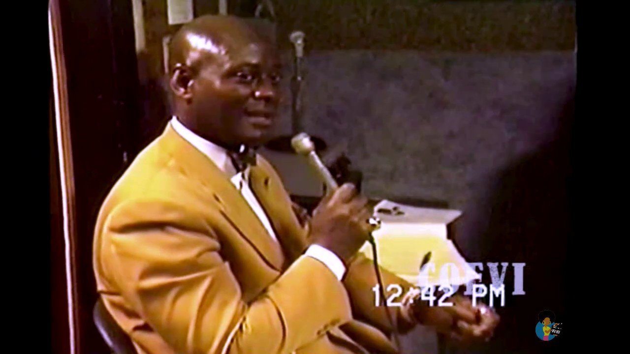 "Dr. Khalid Muhammad - ""We Are In The 7th Day"" (1992) 