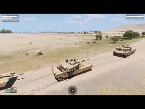 [ARMA 3] Desert Storm Tank Column