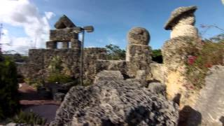 Coral Castle, Homestead, FL. Best Full HD tour with GoPro.