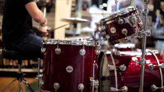 DW Collector Series Ruby Glass Test Run - Alto Music