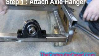 How To Build A Go Kart : Part 4 : Back Axle