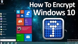 How to Encrypt Windows 10 - Truecrypt 2017