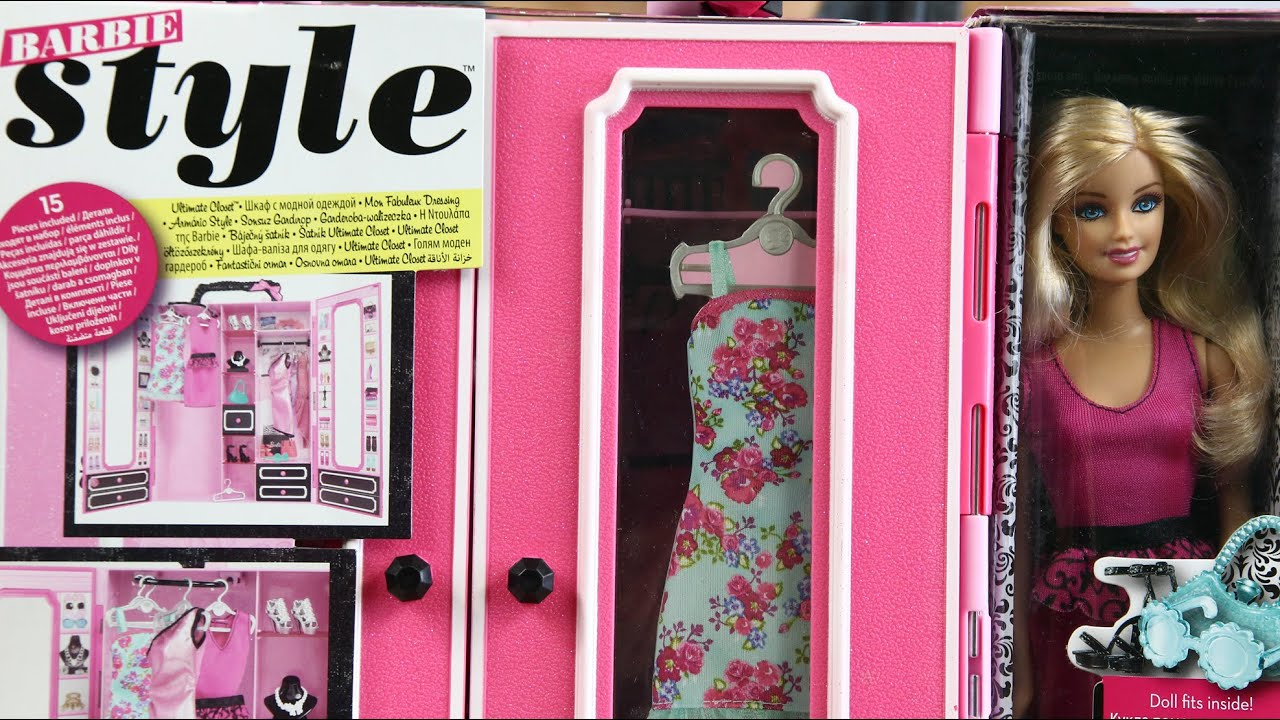 Barbie Garderobe Barbie Ultimate Closet Szafa Barbie Garderoba Barbie