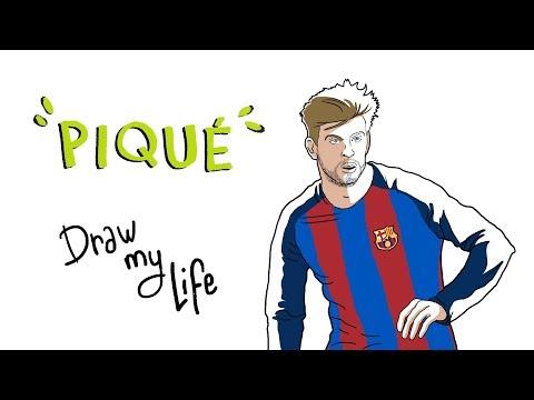 GERARD PIQUÉ - Draw My Life