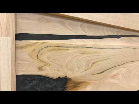 English Chestnut and Epoxy Resin Bed Part 1