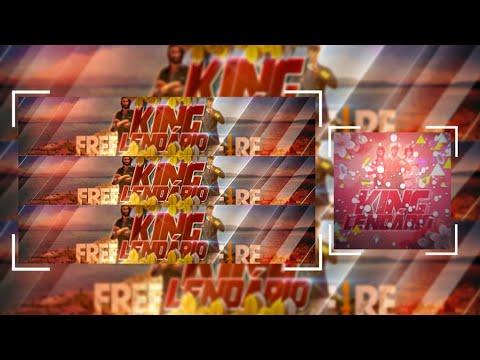 SPEED ART• Banner+Logo Pra @King Lendário