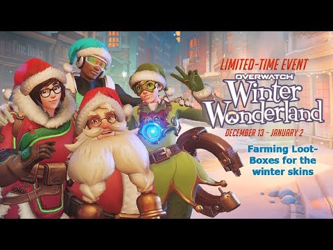 "Overwatch farming more loot boxes ""Winter Wonderland"" event"