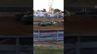 Crash derby finals