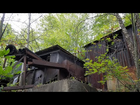 Abandoned Glenburn Coal Mine Shamokin, Pa