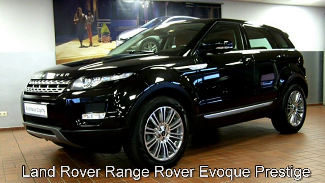 land rover range rover evoque prestige ch660969 schwarz. Black Bedroom Furniture Sets. Home Design Ideas