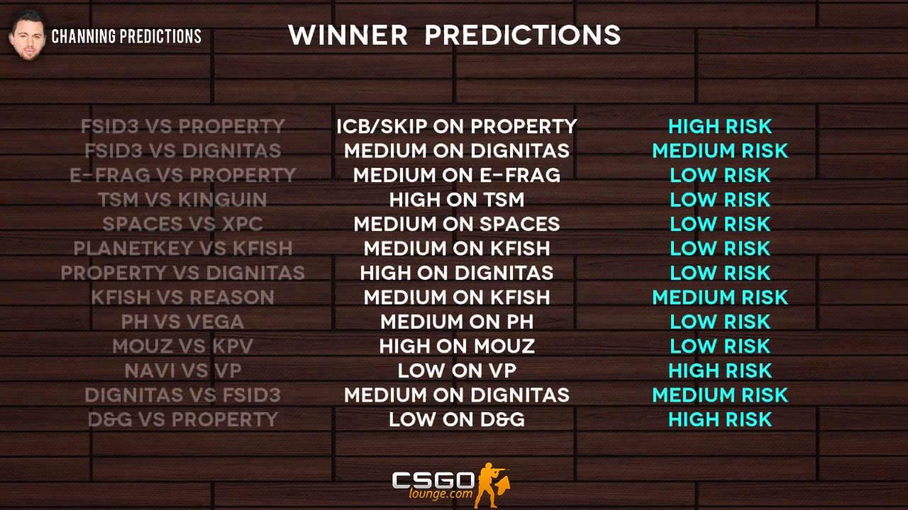 Csgo lounge reddit betting csgo ufc 172 betting predictions free