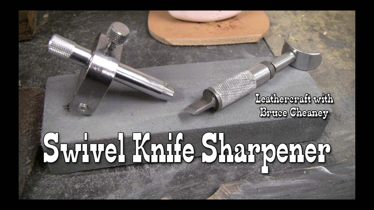 Leather craft swivel knife sharpener how to sharpen for X acto craft swivel knife