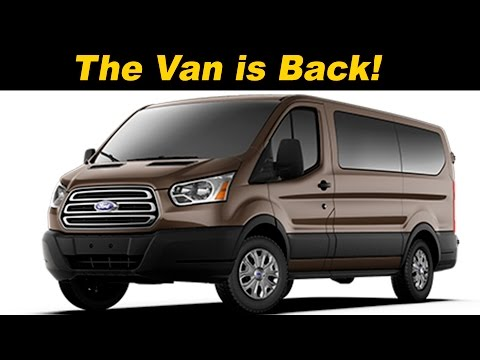 2016 / 2017 Ford Transit Wagon Review - DETAILED in 4K