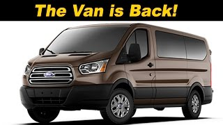 2016 Ford Transit Wagon Review - DETAILED in 4K