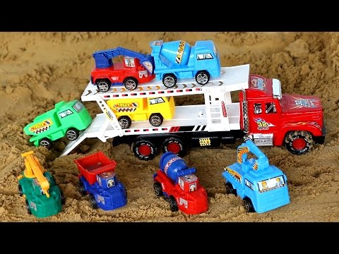 รถเทรนเลอร์ บรรทุก รถแม็คโคร รถปูน รถดั้ม และรถยก