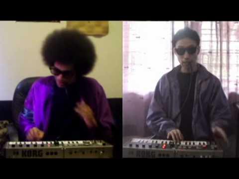 Martin Ross & Lloyd Popp - I Wanna Be Your Man (Talkbox Duet Cover)