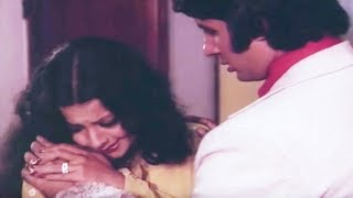 Amitabh Bachchan, Rekha, Do Anjaane - Emotional Scene 30/31