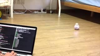 controlling sphero bb 8 from raspberry pi