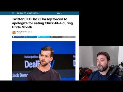 Jack Dorsey Eats at Chick-fil-a and Hates Gay People