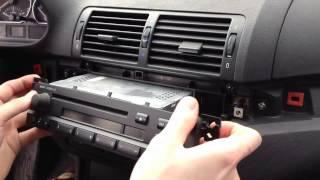 E46 Radioausbau /// radio remove /// BIMMERYOURSELF /// ENG SUBS