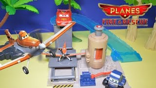 Disney Cars Planes Maru's Gas Up and Go Stop Mechanic Shop Toy Review