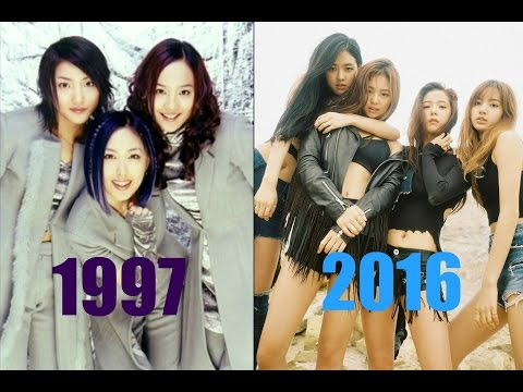 The Evolution Of Kpop Girl Groups  ( 1997 -2016 )