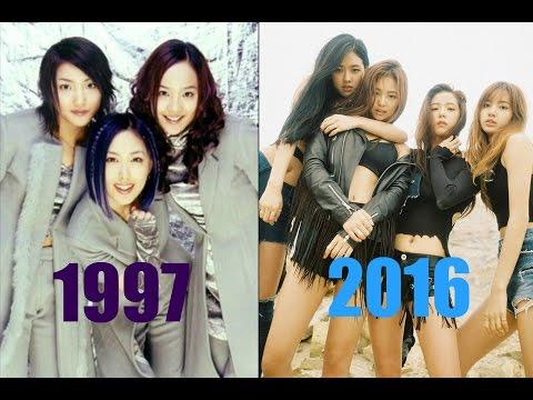 The Evolution Of Kpop Girl Groups  ( 1997 -2016 )