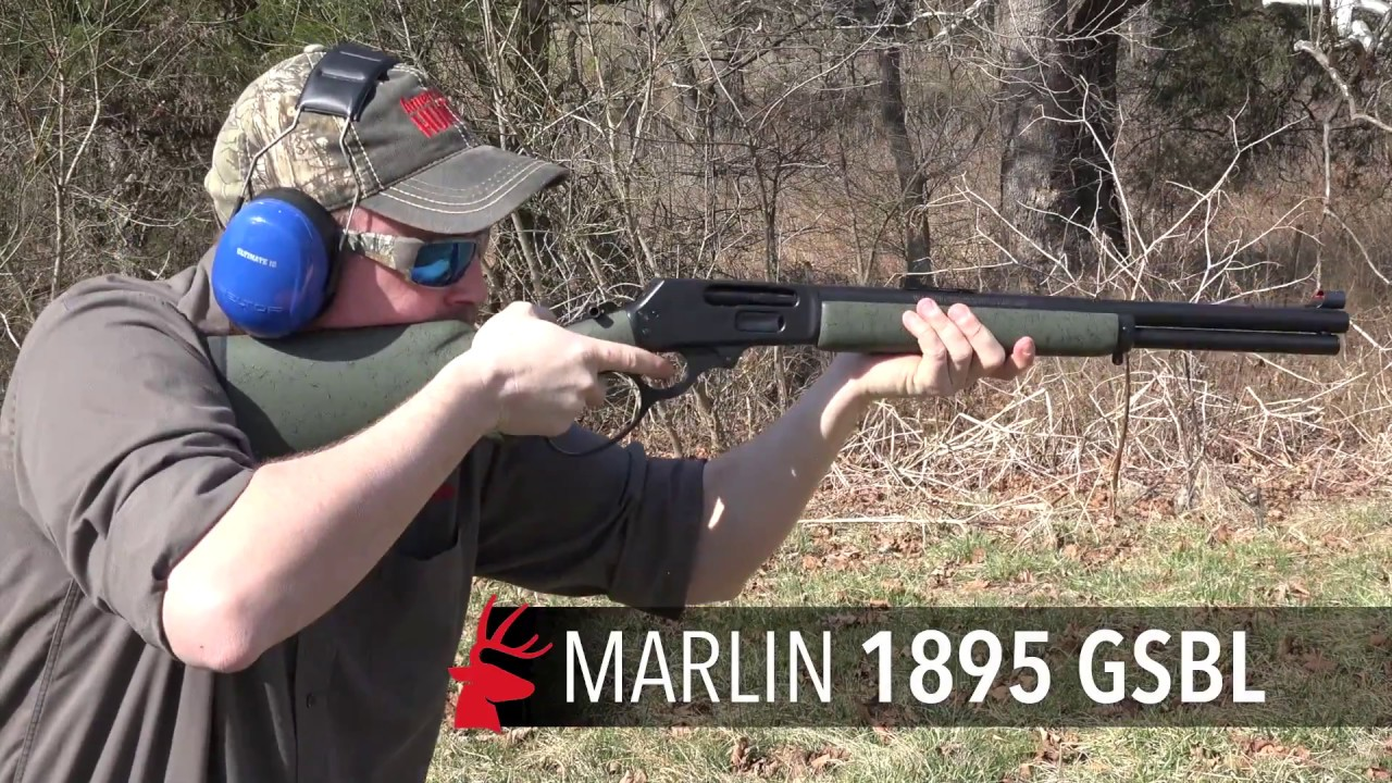 #SundayGunday: Marlin 1895 GSBL Lever-Action Rifle