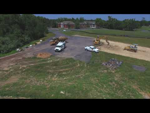 On Site: Preparing for the Foundation of the New Christ the King Chapel