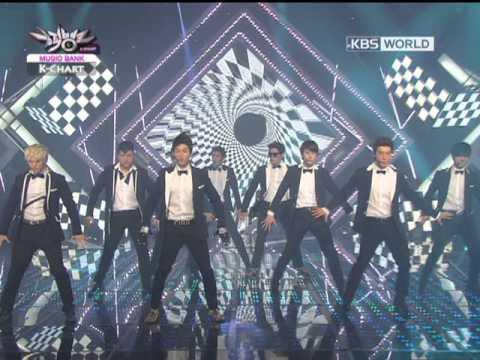 [Music Bank K-Chart] Super Junior - Spy (2012.08.10)