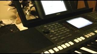 Yamaha PSR s950 Vocal Harmony harmonizer