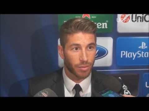 Real Madrid vs Schalke (6-1) Ramos post match interview