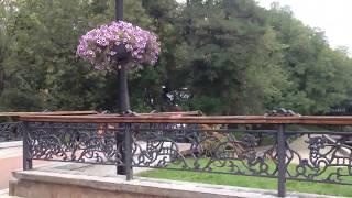 Исторический парк Детинец в Чернигове(Известный парк Детинец в Чернигове. Достопримечательность пушки на валу Чернигова - древний парк культуры..., 2016-09-12T17:12:18.000Z)