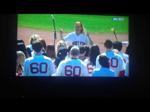 Jimmy Fund Chorus - Boston Red Sox Opening Day.