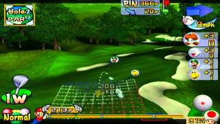 ABM: Mario Golf Toadstool tour gameplay HD