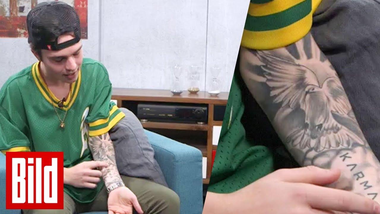 """Mike Singer lüftet das Geheimnis um seine Tattoos """"Ich wurde fast ohnmächtig"""""""