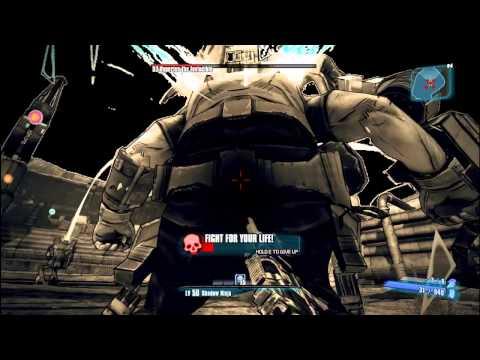 Borderlands 2: Zero VS Hyperius 30 seconds (Melee)