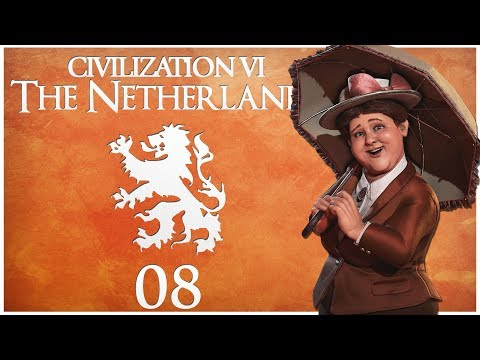 Civilization 6 - Rise and Fall Pre-Release as the Netherlands - Episode 8 ...The One True Religion..