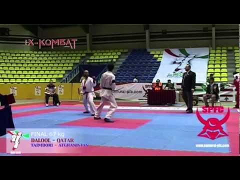 X-KOMBAT: 2nd WEST ASIA KARATEDO CHAMPIONSHIPS - IRAN 2010 67 kg