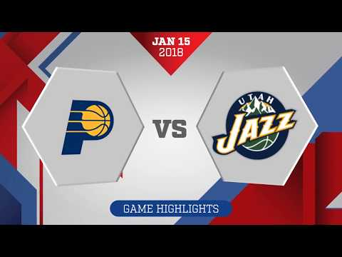 Indiana Pacers vs Utah Jazz: January 15, 2018