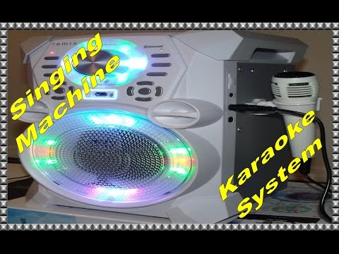 Singing Machine SDL485W Remix Hi-Def Digital Karaoke System