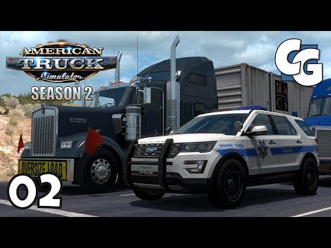 ATS S02E02 - San Simon (New Mexico Connection) - American Truck Simulator Let's Play
