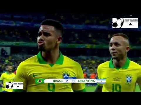 Brasil vs Argentina (2-0) Copa America 2019 COMPACTO