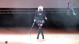ANIMAU 2017. Выбор зрителей: Одиночное дефиле - Pinga (Уфа): NieR: Automata - YoRHa No.2 Type B