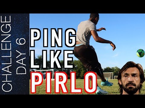 HOW TO PING LIKE PIRLO – LONG PASS TUTORIAL  Day 6