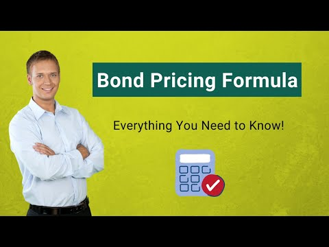 Bond Pricing Formula | How To Calculate Bond Pricing?